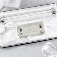 Personalised Silver Plated Certificate Holder