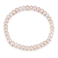 Girls pink pearl bracelet