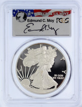 2011-W Proof Silver Eagle PR70 PCGS 25th Anniv Set First Strike Moy