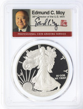 2016-W Proof ASE PR 70 PCGS First Day of Issue 30th Anniversary 1 of 300 Signed Ed. Moy