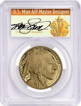 2011-W $50 Proof Gold Buffalo PR70 PCGS First Strike T. Cleveland Art Deco