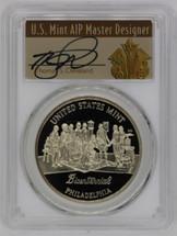 (1993)-P Proof Medal PR70 PCGS U.S. Mint Bicentennial Philadelphia Set T. Cleveland Art Deco