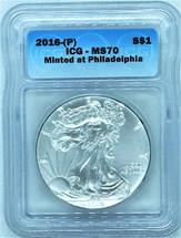 2016-(P) ASE MS70 ICG Minted at Philadelphia
