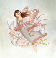 Spring Garland Card