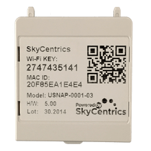 SkyCentrics Wi-Fi USNAP module for Radio Thermostats. Compatible with CT-30, CT-32, and CT-80 modules.