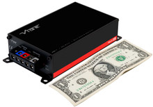 VIBE POWERBOX 400.1M-V7 Class D Mono 400 Watts RMS Micro Amplifier