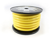 Hollywood CCA 0 AWG POWER CABLE - YELLOW