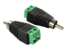 EXCURSION RCA Male to Speaker Wire Adapter