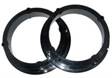 VAG Group Front & Rear Speaker Adapters - 165mm