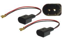 VW Golf V , Beetle, Touran, Tiguan - Speaker Adapter Cables.