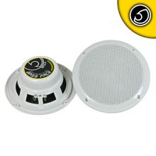 """BASS FACE SPL6.2 Waterproof Coaxial Speakers - - 6.5"""" Inch 17cm 4 Ohm"""