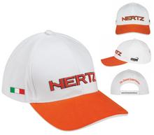 Hertz Orange & White Cap