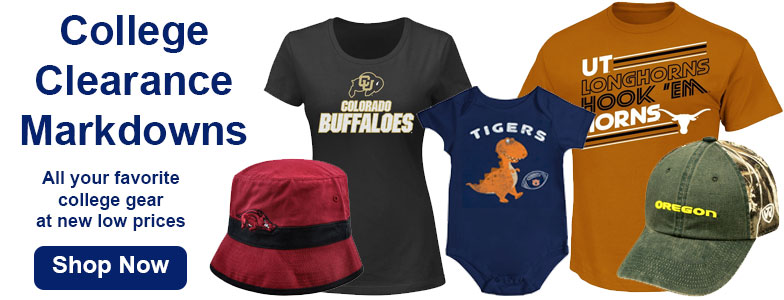 Shop College Clearance & Sales