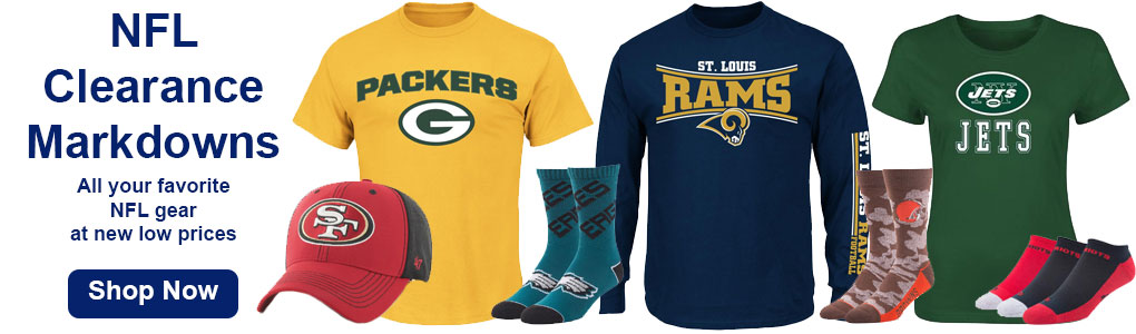 Shop NFL Clearance & Sales