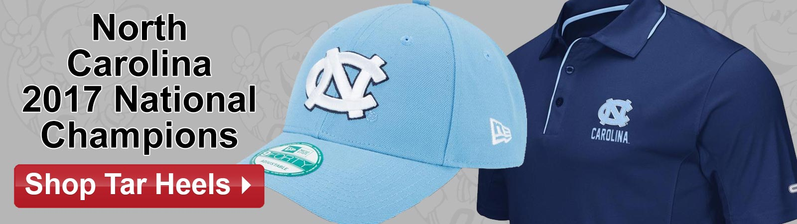 Shop North Carolina Tar Heels 2017 National Championship Gear