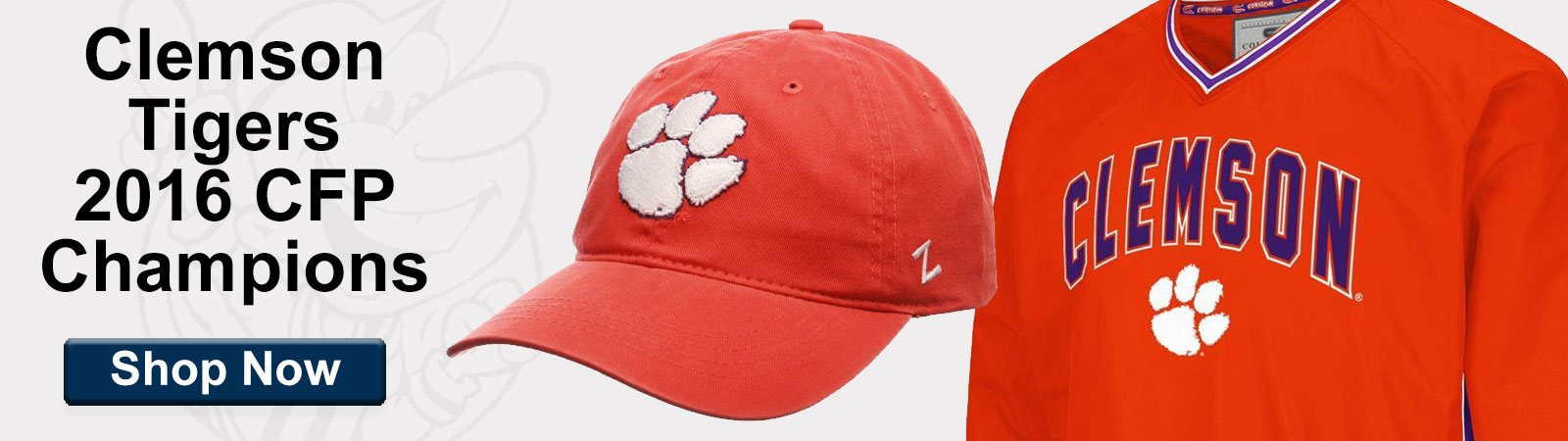 Shop Clemson Tigers College Football Championship Gear!