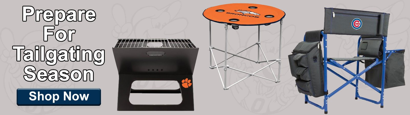 Shop Tailgating and Outdoor Merchandise!