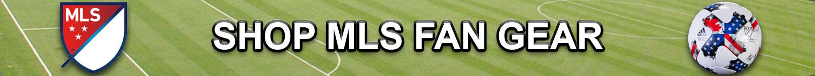Shop MLS Apparel and Team Fan Gear