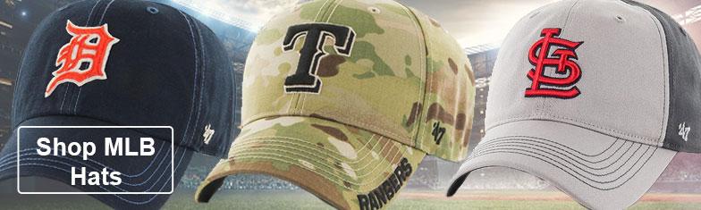 Shop MLB Hats & Apparel