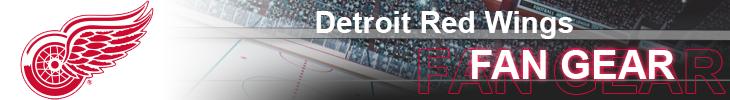 Detroit Red Wings Hockey Apparel and Wings Fan Gear
