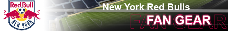 Shop New York Red Bulls NY MLS Apparel and Scarves