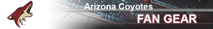 Arizona Coyotes Hockey Apparel and Coyotes Fan Gear