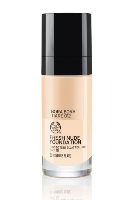 The Body Shop Fresh Nude Foundation Bora Bora Tiare 012  Buy online in Pakistan  best price  original product