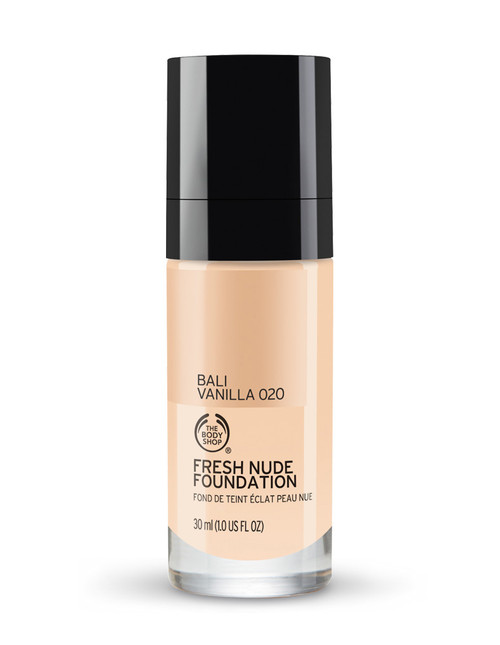 The Body Shop Fresh Nude Foundation Bali Vanilla 020  Buy online in Pakistan  best price  original product