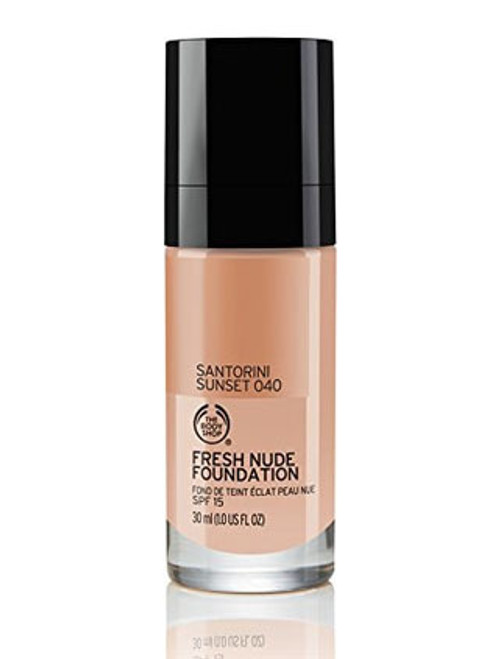 The Body Shop Fresh Nude Foundation Santorini Sunset 040  Buy online in Pakistan  best price  original product