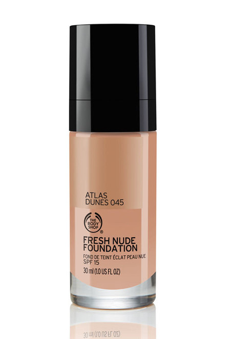 The Body Shop Fresh Nude Foundation Atlas Dunes 045  Buy online in Pakistan  best price  original product