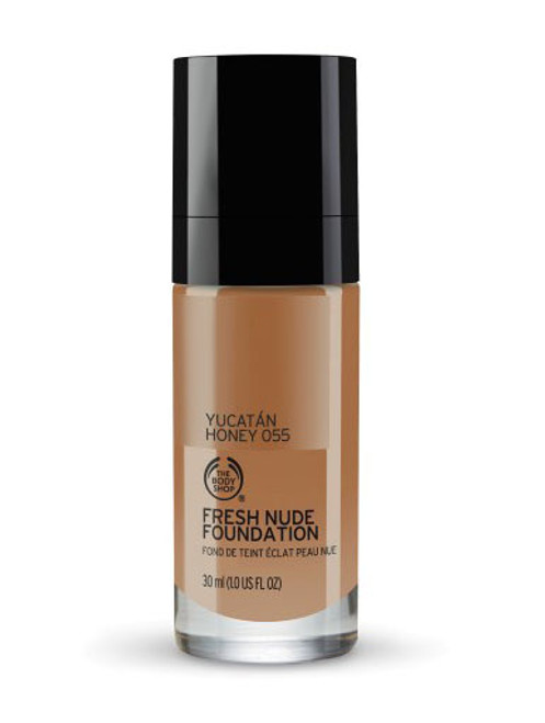 The Body Shop Fresh Nude Foundation Yucatan Honey 055  Buy online in Pakistan  best price  original product