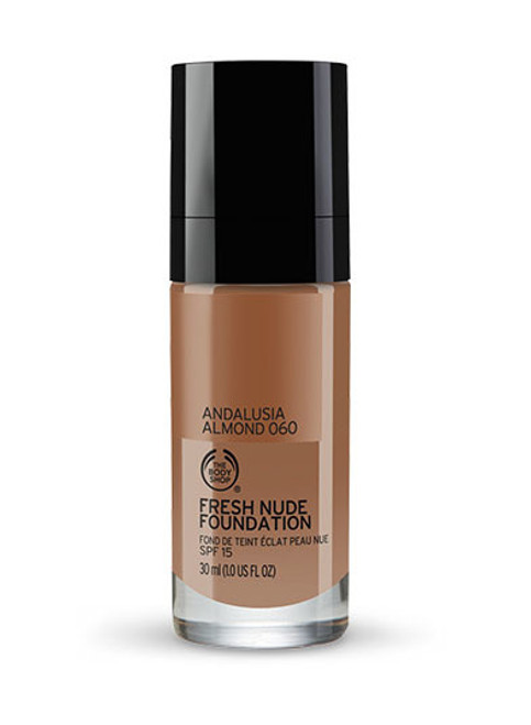 The Body Shop Fresh Nude Foundation Andalusia Almond 060  Buy online in Pakistan  best price  original product