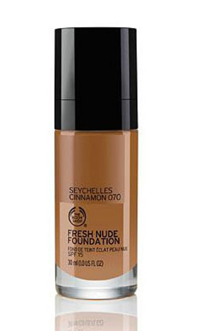 The Body Shop Fresh Nude Foundation 30ML Seychelles Cinnamon 070  Buy Online In Pakistan Best Price Original Product