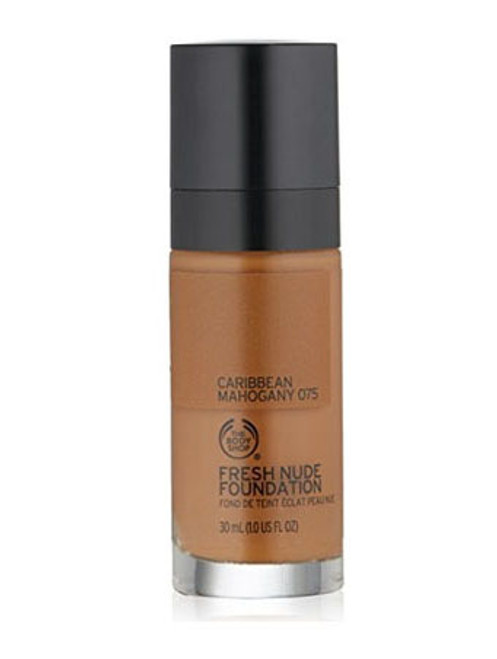 The Body Shop Fresh Nude Foundation Caribbean Mahogany 075  Buy online in Pakistan  best price  original product