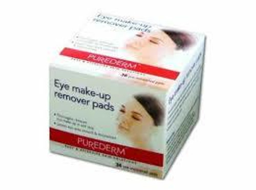 Purederm Eye Make-Up remover Pads 36 pads  Buy Online In Pakistan Best Price
