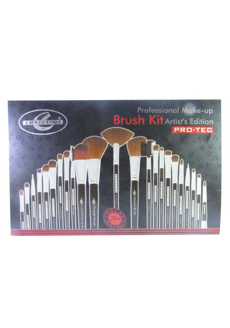Christine Professional 23 Artistic Makeup Brush Kit (front)