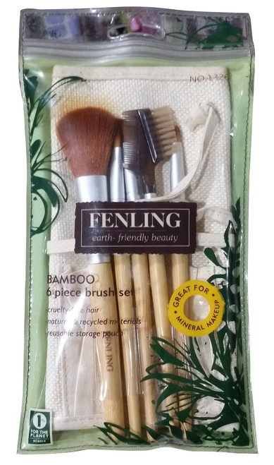 Fenling Bamboo Brush Set 6 Pieces shop online in Pakistan best price