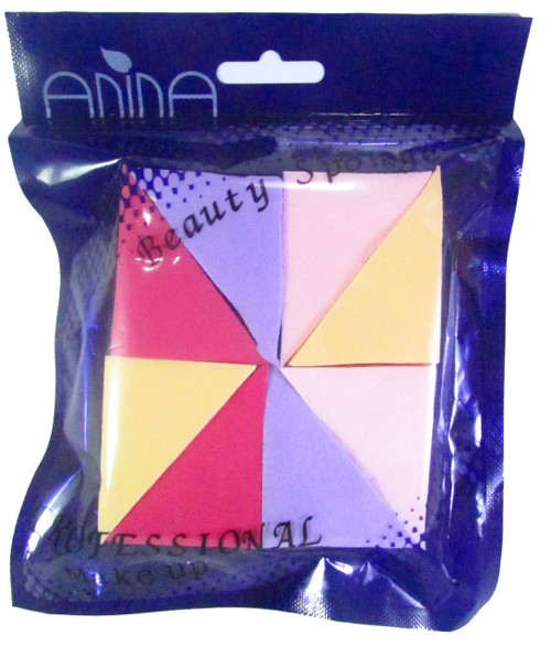 Anina Professional Makeup Beauty Sponges (Triangle Shaped) Buy Online In Pakistan