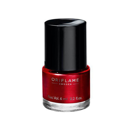 Oriflame Pure Colour Nail Polish Mini Coral Red 6 ML Buy online in Pakistan best price original product