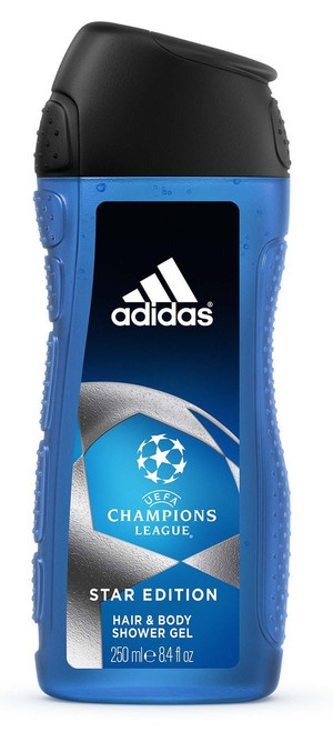 Adidas UEFA CHampions League Star Eddition Shower Gel 250ML