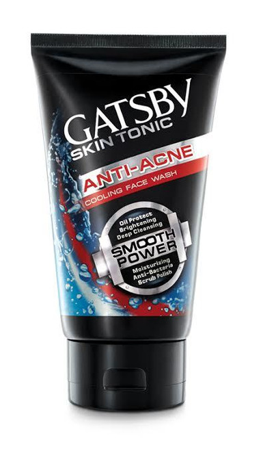Gatsby Skin Tonic Anti Acne Cooling Face Wash 120g buy online lowest price
