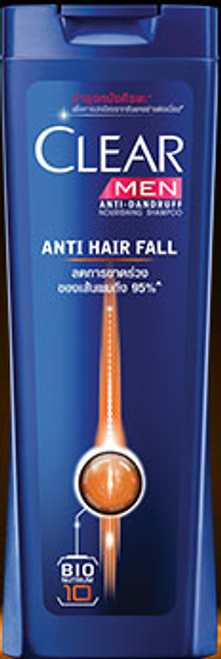 Clear Men Anti-Dandruff Anti Hair Fall Get Upto 95% Less Hair Fall Shampoo (Thailand) buy online in pakistan best price original product