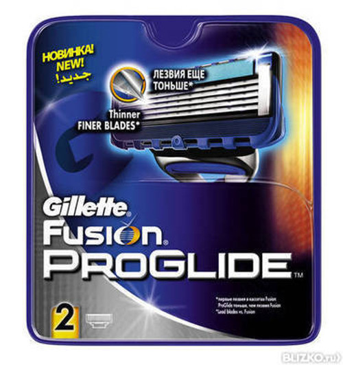 Gillette Fusion ProGlide Manual Blades Carts 2 Buy Online In Pakistan