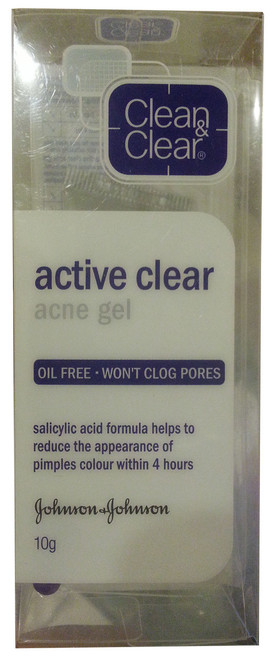 Clean & Clear Active Clear Acne Gel 10g   buy online in Pakistan