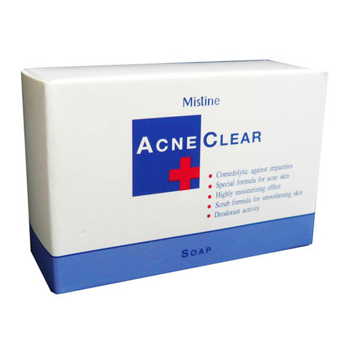 Mistine Acne Clear Bar Soap best price original product