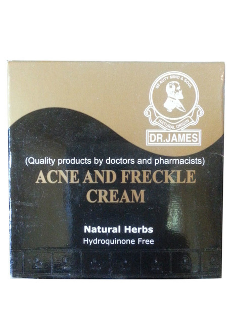 Dr.James Acne And Freckle Cream Buy online in Pakistan