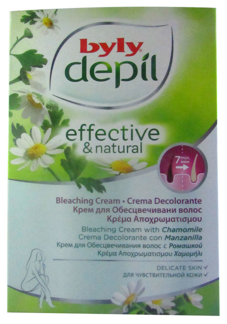 Byly Depil Effective & Natural Bleaching Cream Chamomile Buy online in Pakistan