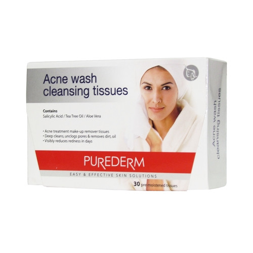 Purederm Acne Wash Cleansing Tissues Buy Online In Pakistan Best Price Original Product