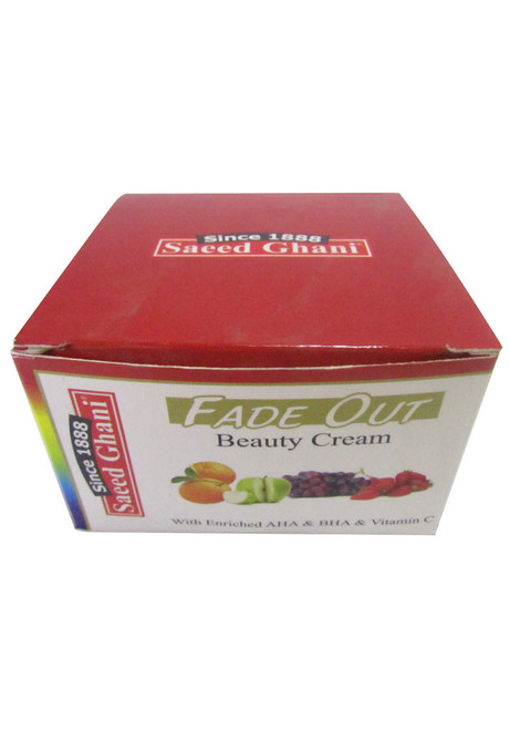Saeed Ghani Fade Out Beauty Cream 65g  Original Product