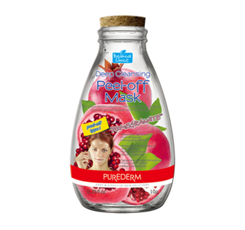 Purederm Deep Cleansing Peel-Off Mask Pomegranate